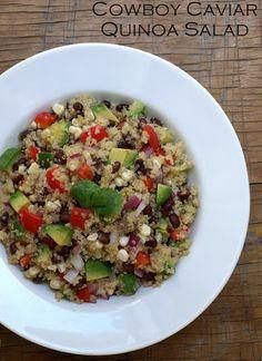 Cowboy Caviar Quinoa Salad
