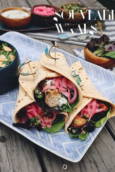 Summer Kick-off: Grilled Chicken Souvlaki Wraps