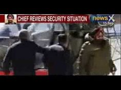 NewsX : Army Chief General Bikram Singh reviews security situation at Ladakh