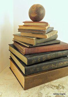 How to Age Books  http://namelyoriginal.blogspot.com/2012/12/how-to-age-books.html#