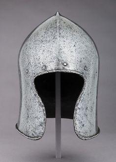 Sallet Date: ca. 1470–80 Geography: Milan Culture: Italian, Milan Medium: Steel Dimensions: H. 10 3/4 in. (27.3 cm); W. 7 3/4 in. (19.7 cm); D. 10 1/4 in. (26 cm); Wt. 6 lb. 9.4 oz. (2988 g)