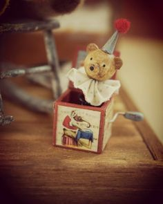 Bear in the Box     So Cute! by Yuki    ameblo.jp/tsplace/page-2.html