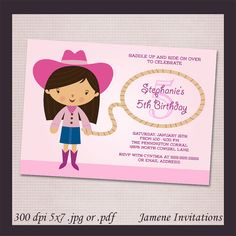 Hey, I found this really awesome Etsy listing at https://www.etsy.com/listing/125625729/pink-cowgirl-birthday-party-printable
