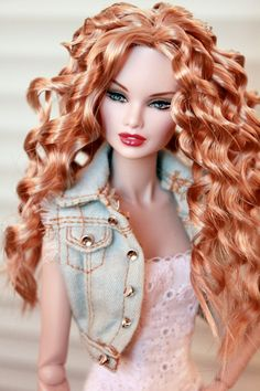 Barbie Hair, Barbie Dress, Barbie Clothes, Beautiful Barbie Dolls, Pretty Dolls, Fashion Royalty Dolls, Fashion Dolls, Barbie Bridal, Jolie Lingerie