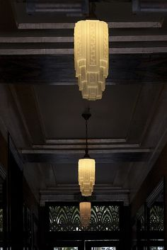 Art Deco Lighting !
