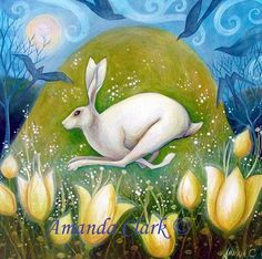 Morning Dew  -  Amanda Clark- art gallery, original paintings