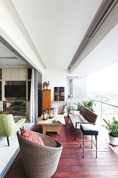 Balcony Living Room With Interior.Finished Villa Interiors Designs Kerala Home Design And . Single Room With Balcony Next To Giardini Room For Rent . 1904 By Molecule Tiny Homes Tiny Living. Home and Family Condo Balcony, Apartment Balconies, Cool Apartments, Interior Balcony, Balcony Garden, Balcony Planters, Condo Design, Interior Design, Apartment Living