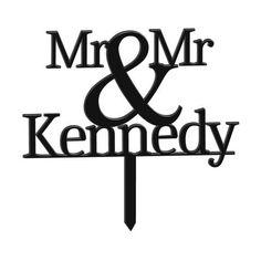 Mr & Mr Personalised