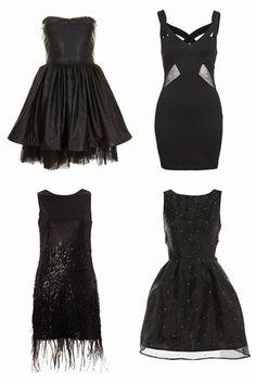 Love the top left LBD!  Little black dress: 50 Lush LBDs - Little black dress: 50 Lush LBDs