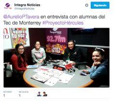 Entrevista medios - Sala de prensa.  Entrevista con alumnas del Tec de Monterrey