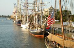Tall Ships Tour - we love being a part of the Tall Ships celebration.  Coming again in July 2013!