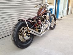 CCI has built a reputation on delivering show quality chrome plating to this region's demanding and knowledgeable customers. The owner of this `80s Sportster had a unique vision we love.