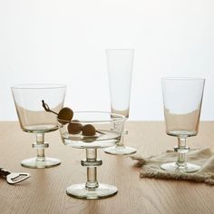 Stylish Recycled Glassware from Swaziland: Remodelista Above: Ngwenya Glass's Cape Recycled Glassware range is available at West Elm.