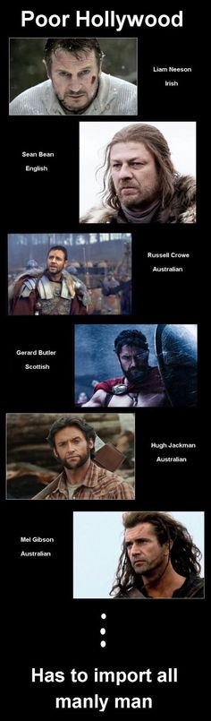 Are all the movie tough guys English?