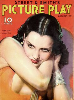 #vintage #magazine Picture Play #cover Lupe Velez