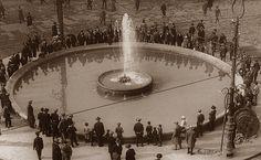 Beograd - 1930-tih - Terazije - fontana