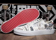 72908a3a645 Vans Shop White Wes Lang x Vans Vault OG Old Skool LX Skateboard Shoes -  One of the most popular artists working