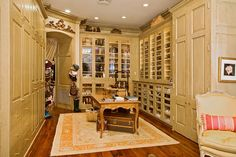 Love the entrance from bedroom to closet. A good idea for converting the office into a master closet.