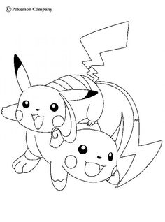 Raichu and Pikachu Pokemon coloring page. This Raichu and Pikachu Pokemon coloring page is the most beautiful among all coloring pages. Pikachu Pikachu, Flareon Pokemon, Pokemon Go, Fire Pokemon, Pokemon Coloring Sheets, Pikachu Coloring Page, Cat Coloring Page, Cartoon Coloring Pages, Coloring Book Pages