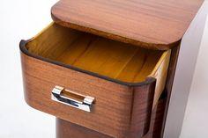 amerikai art deco, egyszerű vonalú antik bútor