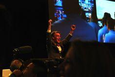 Bill Nye Reaction To Mars Landing Caught On Camera