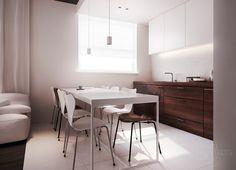 flat interior design, warsaw.