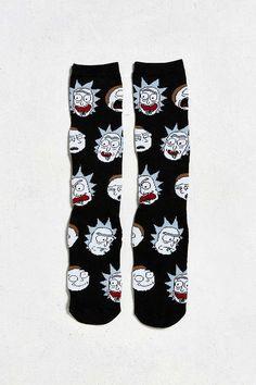 Rick & Morty Sock