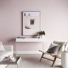 Blushing beautiful  Love everything about this space by @nathan_jac x