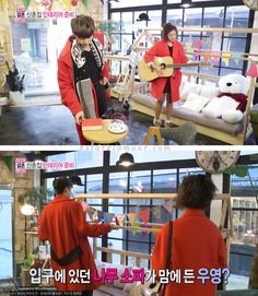 2PM Wooyoung in ENTROFE for We Got Married - kStarGlamour