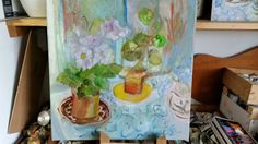 Board, Painting, Painting Art, Paintings, Painted Canvas, Planks, Drawings