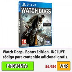 Watch Dogs – Bonus Edition para #PS4. #ofertas #descuentos