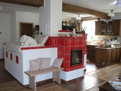 Home Rocket, Stair Shelves, Earth Bag Homes, Tuile, Stove Fireplace, Rocket Stoves, Farms Living, Design Case, Home Decor Kitchen