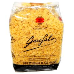 Perfect pasta for a soup to warm you up on these winter days! http://www.italiaregina.it/garofalo-farfalline-pasta/