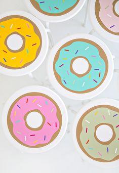Taburetes de donuts