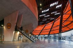 Zenith Music Hall Strasbourg, France design by Massimiliano Fuksas, Doriana Fuksas, Architects - French concert venue building, architecture info & photos Strasbourg, Residential Architecture, Architecture Design, Metal Facade, France Europe, Nice View, Opera, Gallery, Image