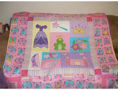 Princess quilt by Karielt on Quilting Board