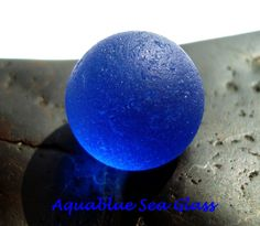 Turquoise   Sea Glass  Marble    From Puerto by aquablueseaglass, $19.99
