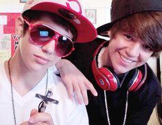 Austin Mahone and Alex Constancio