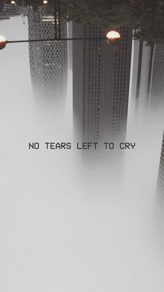 no tears left to cry lockscreen