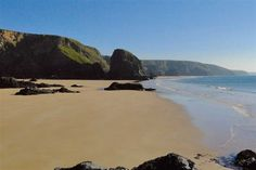 Diggory's Beach, Cornwall. Part of the stunning Bedruthan Steps.