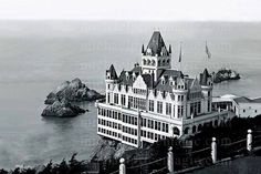 San Francisco's Cliff house -  I have this original glass slide from my great-great grandparent's visit in 1899 from Cleveland, Ohio.  -- Michael John Price