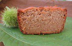cake très moelleux à la farine de châtaignes.