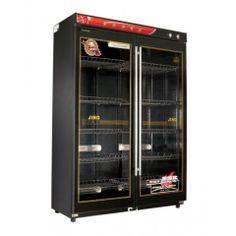 Tủ sấy bát công nghiệp YTD980-08 - dung tích 980 lít, sấy nóng công nghệ halogen + khử trùng, thương hiệu Eikao.