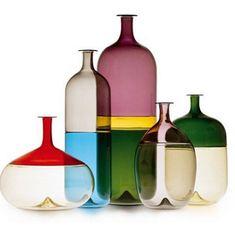 Vase Bolle via Goodmoods - Deco How to Crafts Tom Dixon Beat, Glass Ceramic, Glass Vase, Design Research, Salon Design, Color Effect, Plexus Products, Art Decor, Bubbles