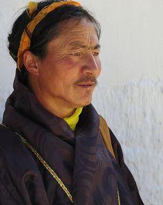 Tibetan Nomad on pilgrimage