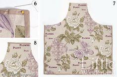 Cómo hacer un delantal | How to make an apron