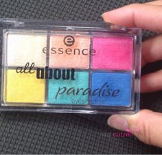 Essence Cosmetics: All About Paradise Eyeshadow Palette And Beauty Look | The Color Wheel Gallery