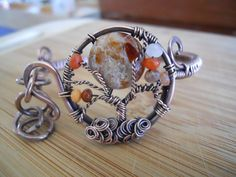 Tree of Life Bracelet Maple Opal Agate and by OurFrontYard on Etsy, $37.77