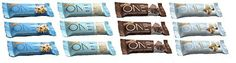 OhYeah! Nutrition - Birthday Cake/Brownie/Almond Bliss/Chocolate Chip Cookie Dough 3 of each (12 Bars Total) ...