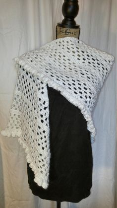 White Prayer Shawl